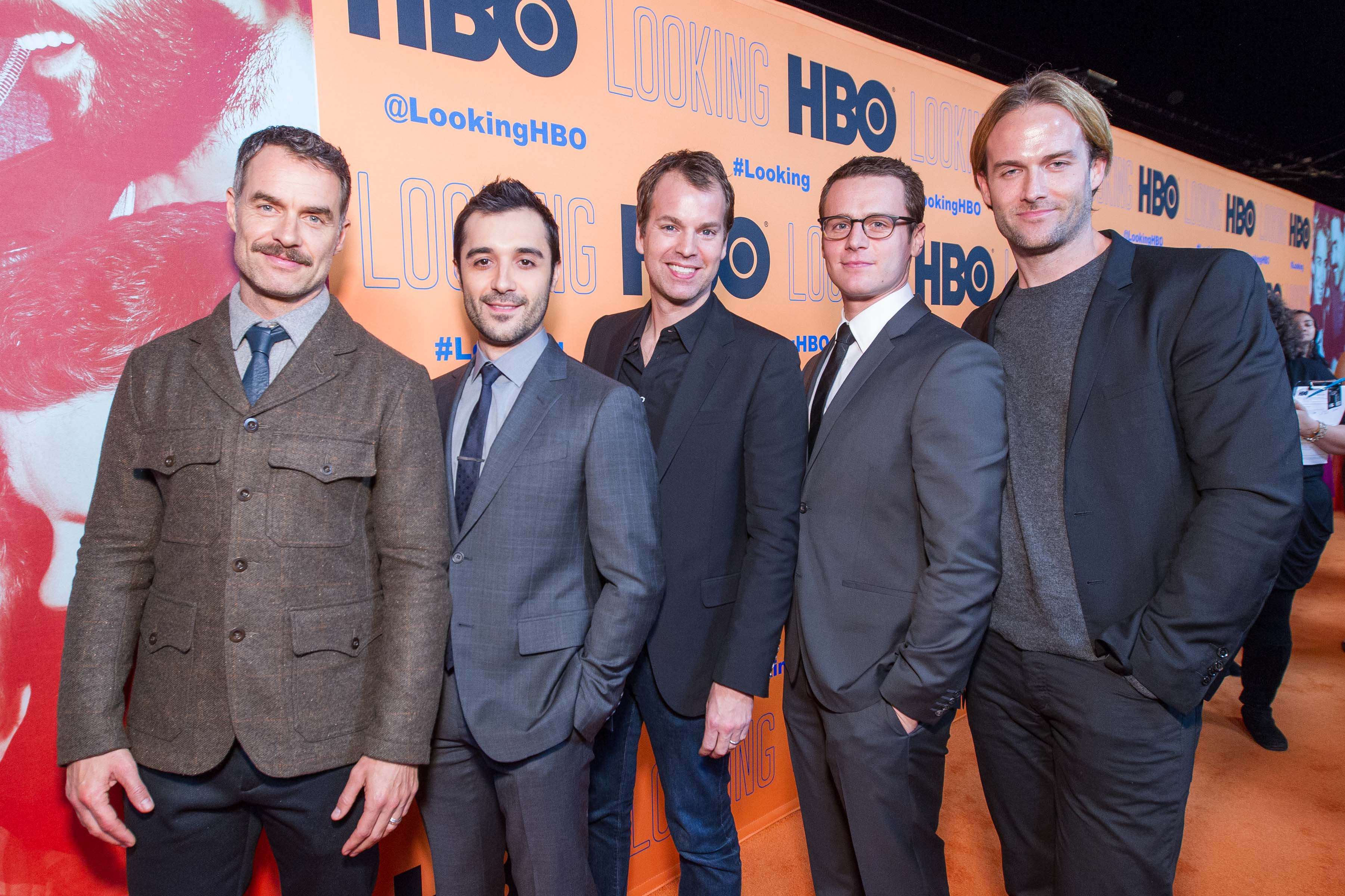 Murray Bartlett, Frankie J. Alvarez, Casey Bloys, Jonathan Groff, Nick Hall