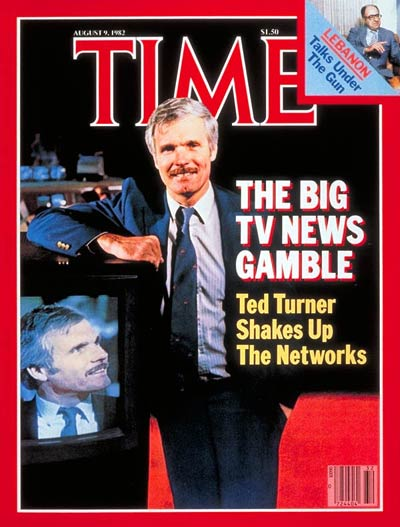Ted Turner – Time Magazine