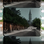 stencil colored film