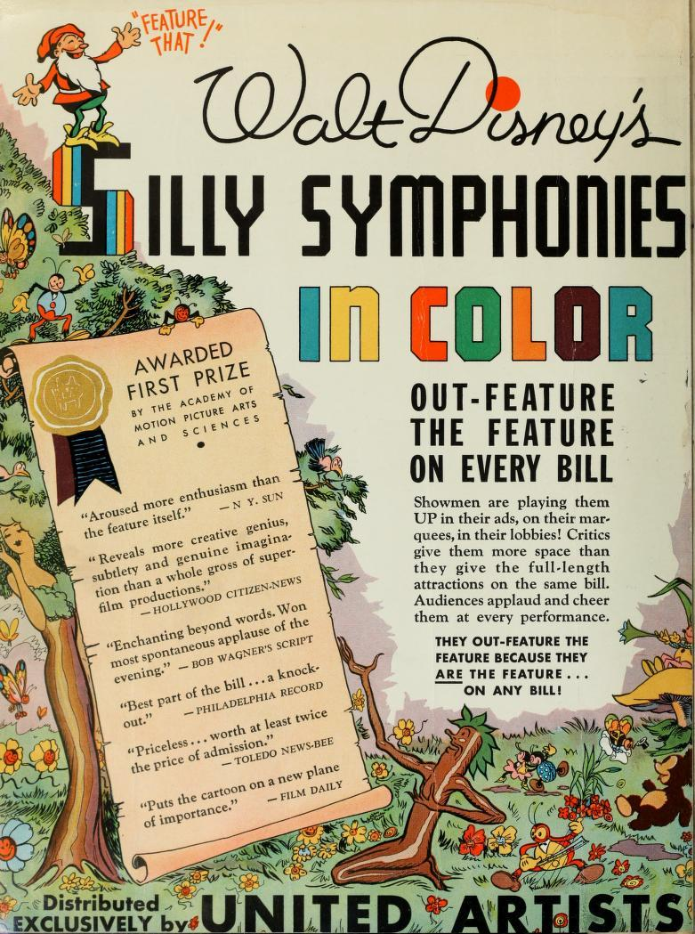 technicolor – Sillly Symphonies