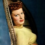 Photo of Maureen O'Hara from ''Screenland'' magazine March 1950